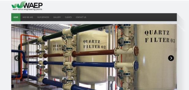 WAEP Nigeria Limited - realizzazione sito web e Catalogo commerciale